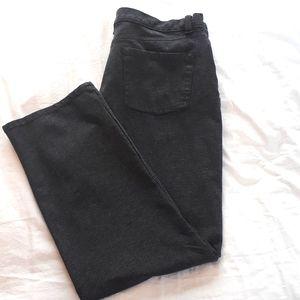 Gloria Vanderbilt Grey Stretchy Dress Pant Size 10